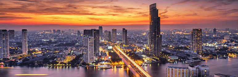 La Ciudad De Bangkok Impermeable
