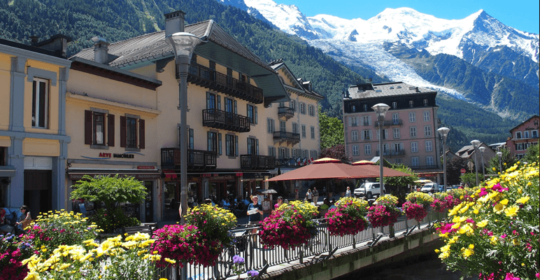 luna de miel en Chamonix
